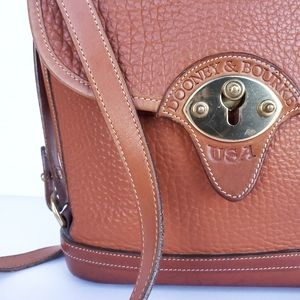 Dooney & Bourke Vintage Leather Crossbody Bag
